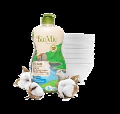 BIO MIO эко-средство для мытья посуды, овощей и фруктов с экстр. хлопка