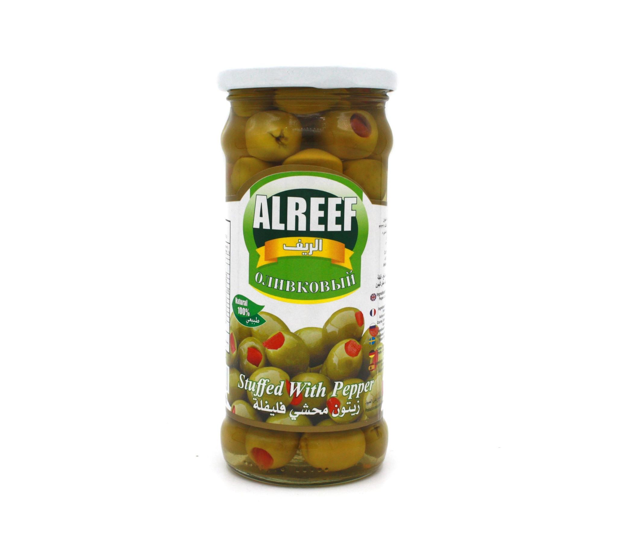Оливки Оливки зеленые с перцем Al Reef, 360 г import_files_a2_a24b6a3a67e911e89d8f448a5b3752ae_da0404c6657a11e8a996484d7ecee297.jpg