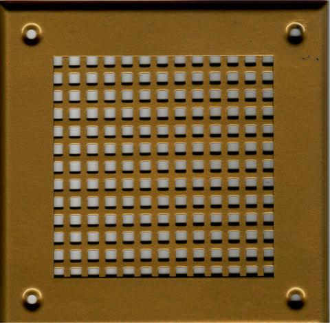 Решётка 210*210 золото, большая клетка