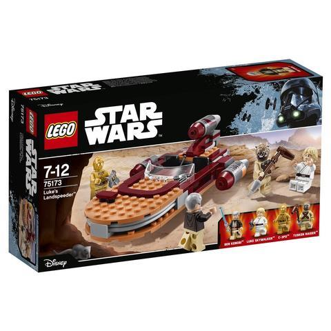 LEGO Star Wars: Спидер Люка 75173 — Luke's Landspeeder — Лего Звездные войны Стар Ворз