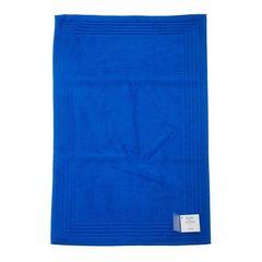 Коврик для ванной 50х90 Blanc des Vosges Mat Uni Bleu Royal синий