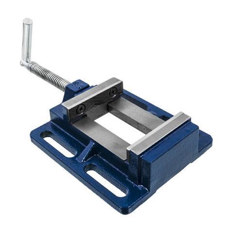 Тиски станочные КОБАЛЬТ ширина губок 75 мм, захват 78 мм, 2 кг, коробка (246-036)