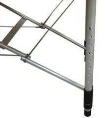 DURALITE двухсекционный складной массажный стол