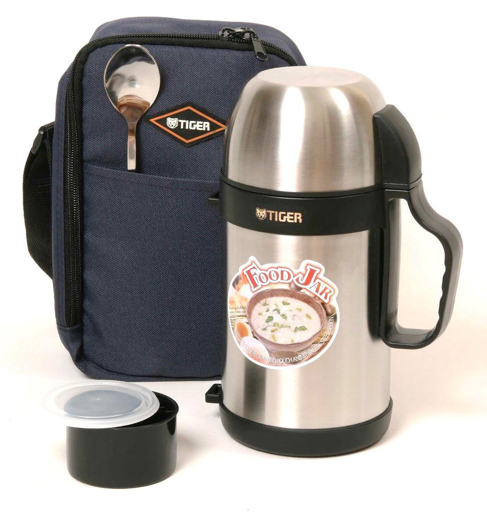 Термос универсальный (для еды и напитков)Tiger MCW-P091 (0,9 литра) стальной