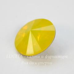 1122 Rivoli Ювелирные стразы Сваровски Yellow Opal (14 мм)