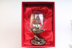 Бокал для коньяка Рыбалка-Осетр (картонная коробка)