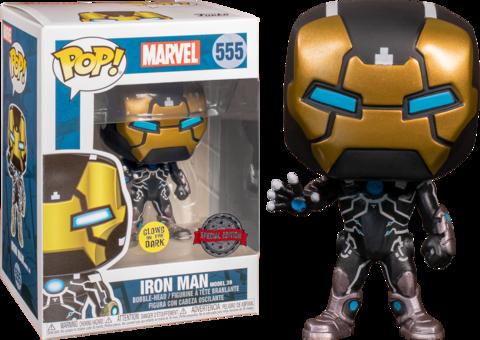 Iron Man Model 39 Funko Pop! Exc || Железный Человек (светится в темноте)