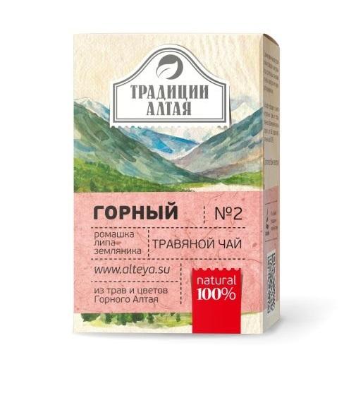 Травяной чай Горный Традиции Алтая фото1