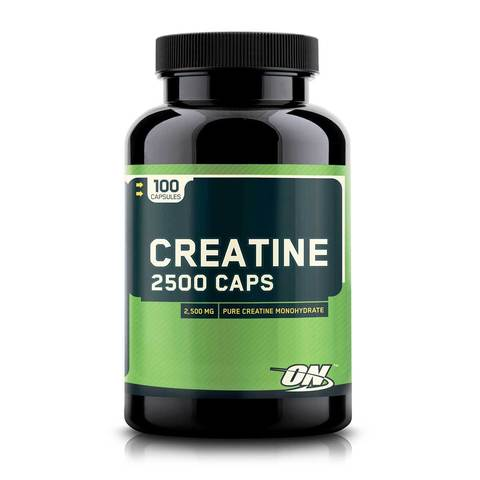 Creatine 2500 mg, 100 caps.