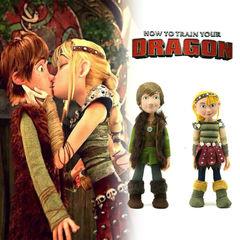 Как приручить дракона 3 куклы Иккинг и Астрид