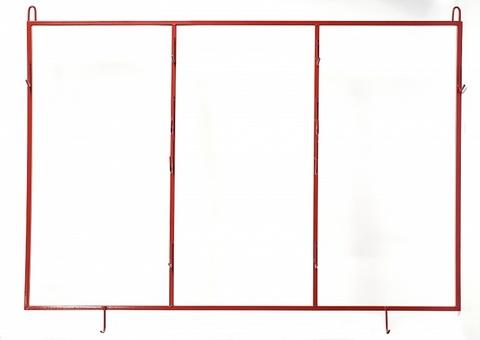 Щит пожарный открытый металлич. каркасный (без комплекта)