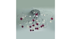 Kolarz 1307.112.5.VR03_05 — Светильник настенно потолочный Kolarz TWISTER ROSY