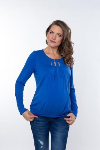 Блузка 01822 синий