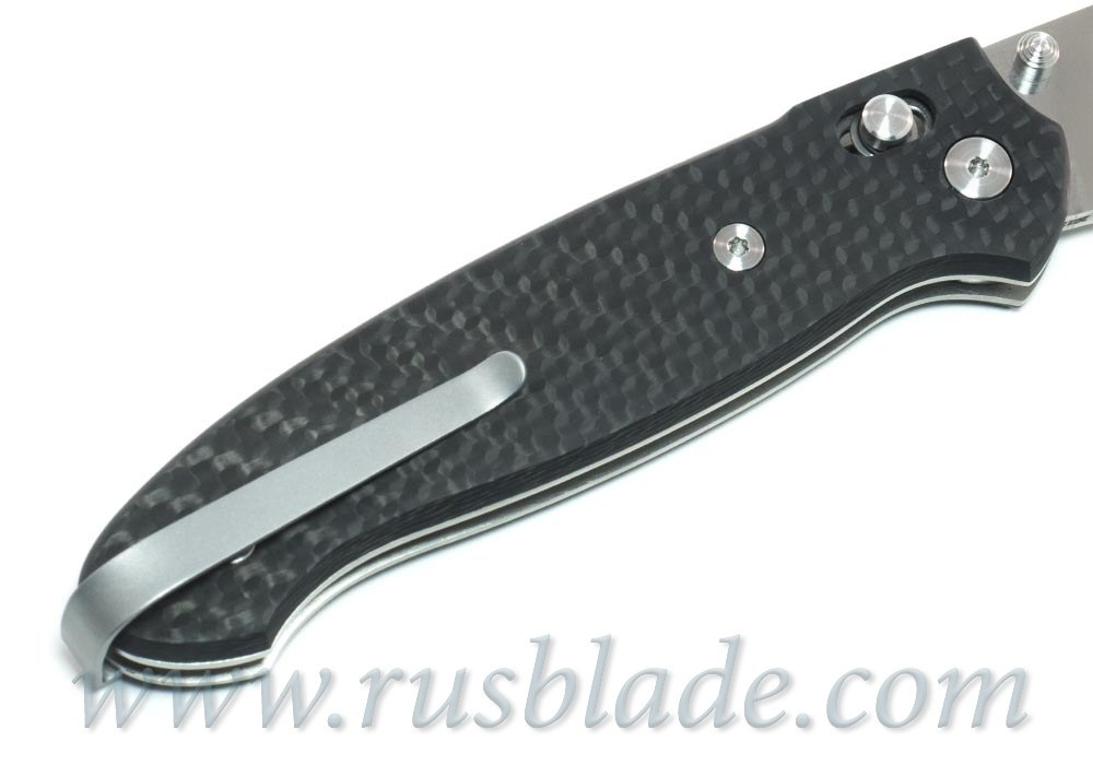 Cheburkov Scout Elmax Folding Knife Carbon Fiber Axis Lock Best Russian Knives