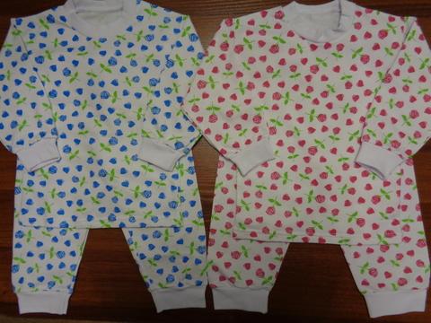 Пижама  цветная  д/детей (футер) р.32