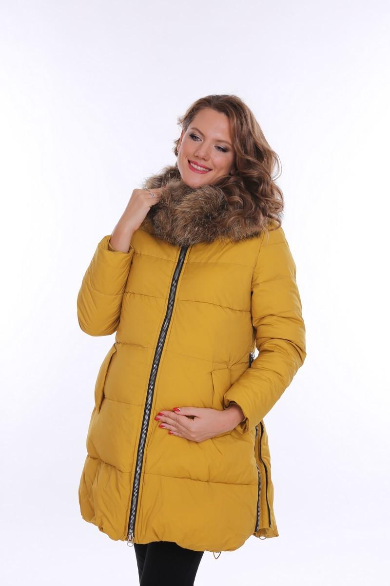 Куртка 09094 горчичный