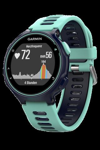 Купить Спортивные смарт часы Garmin Forerunner 735XT 010-01614-07 Синие по доступной цене