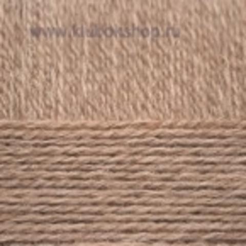 Пряжа Верблюжья (Пехорка) Темно-бежевый 165