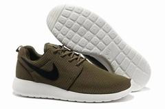 Кроссовки мужские Nike Roshe Run Material Brown White