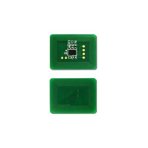 Чип для тонер-картриджа OKI C833/C843. Цвет голубой. Ресурс 10K