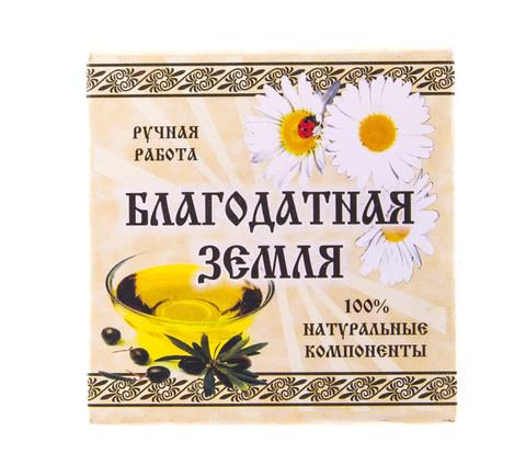 Мыло натуральное оливковое Ромашка, 75 г