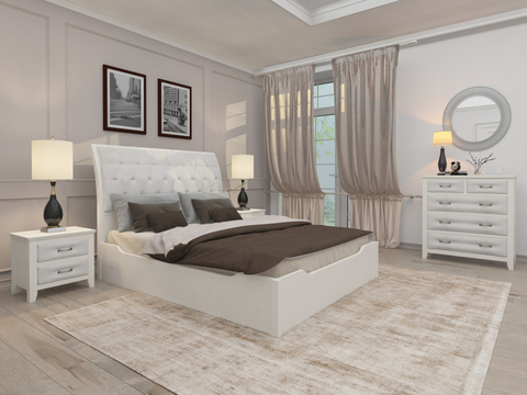Кровать Райтон Lester с подъемным механизмом