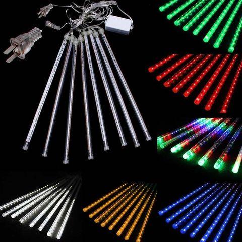 Тающие сосульки гирлянды LED 30см
