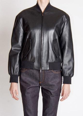 Куртка кожаная ALBERTA FERRETTI