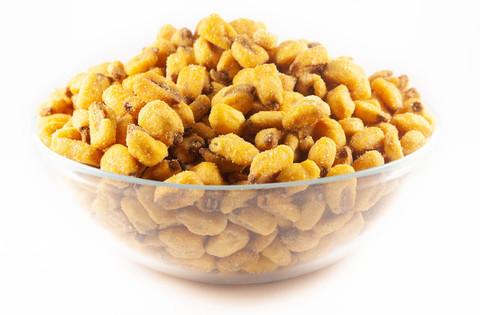 Кукуруза жареная со вкусом горчицы и мёда