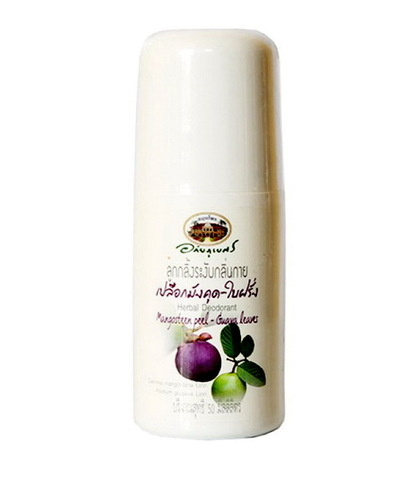 Натуральный лечебный дезодорант для всех типов кожи Abhaibhubejhr (Абхайпуберт) Mangosteen