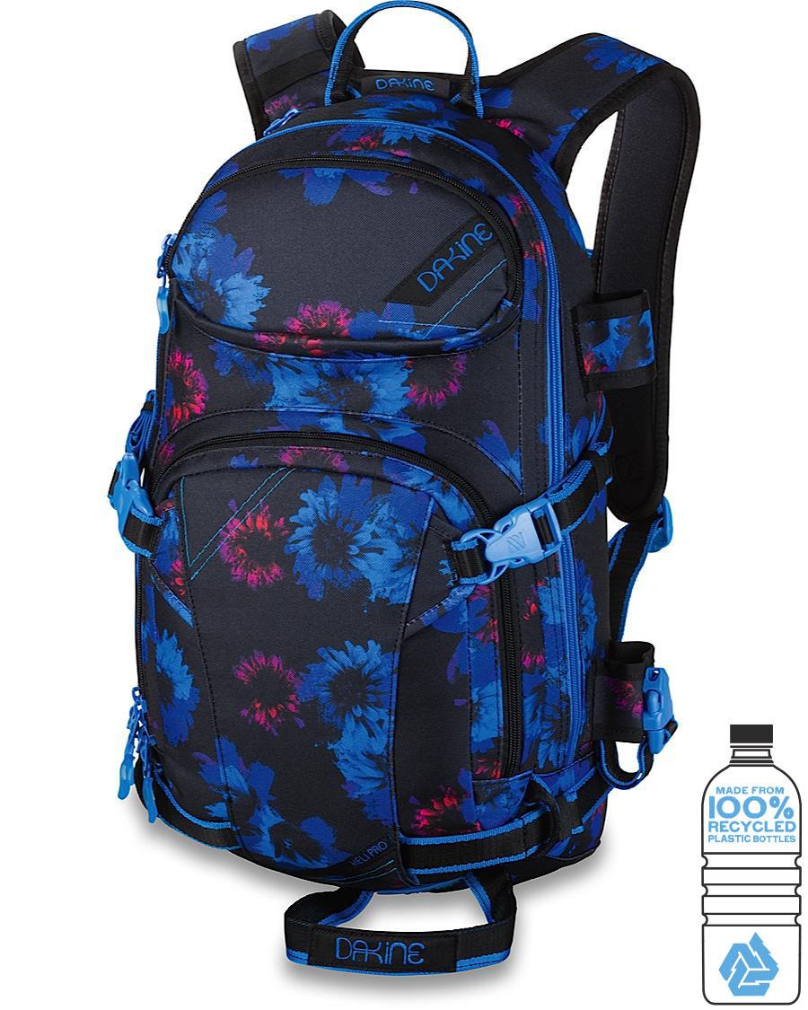 Сноуборд Рюкзак для сноуборда женский Dakine Heli Pro 18L Blue Flowers 8200110_BFL_WOMENSHELIPRO18L_BLUEFLOWERS.jpg