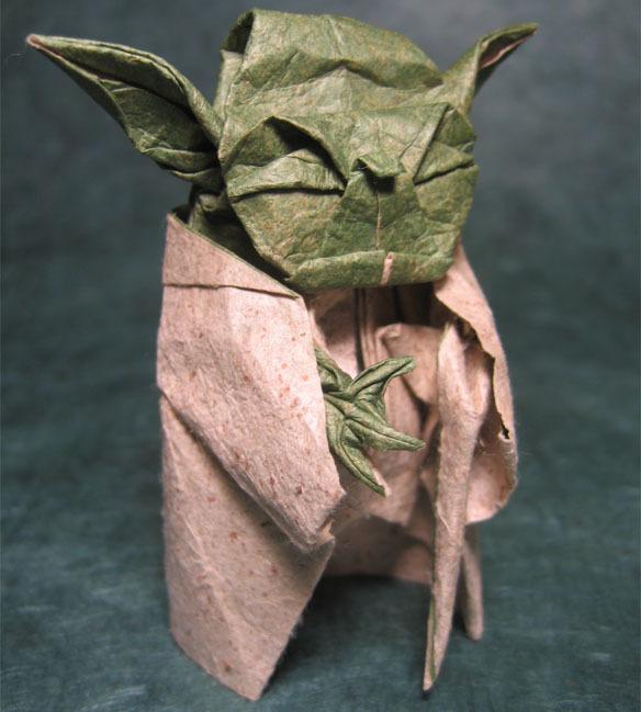 Оригами поделка из книги