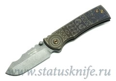 Нож Redencion Aztec Custom Ramon Chaves