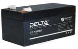 Аккумулятор Delta DT 12032 ( 12V 3,3Ah / 12В 3,3Ач ) - фотография