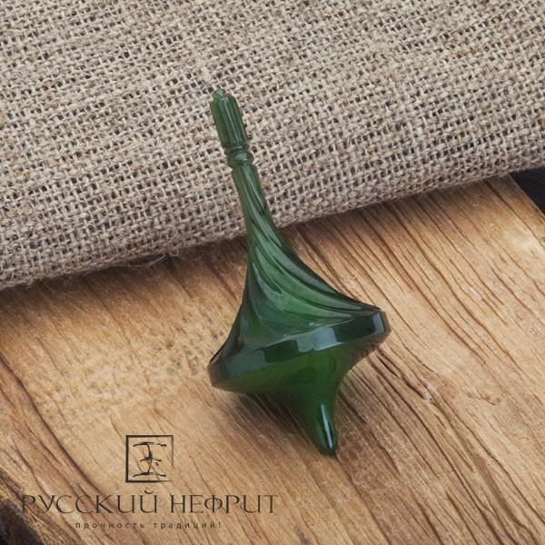 Спиннер из зеленого нефрита