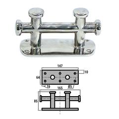 Кнехт двойной 150х60 мм AISI 316