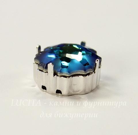 4195/S Сеттинг - основа для страза Медуза 14 мм (цвет - античное серебро)