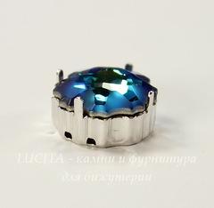 4195/S Сеттинг - основа Сваровски для страза Медуза 14 мм (цвет - античное серебро)