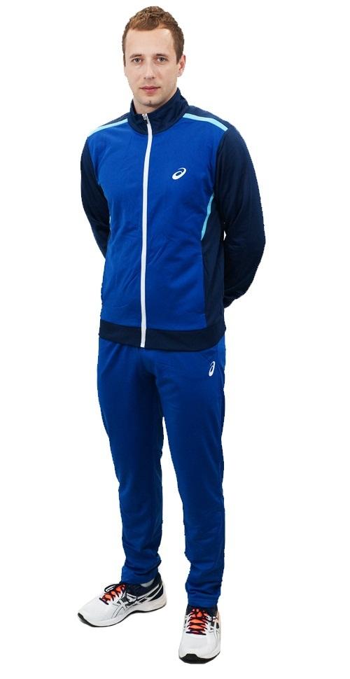 Мужской спортивный костюм асикс Tracksuit Polywarp (130825 8107)