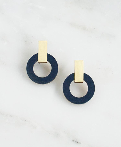 Серьги Orbit Earrings Blue