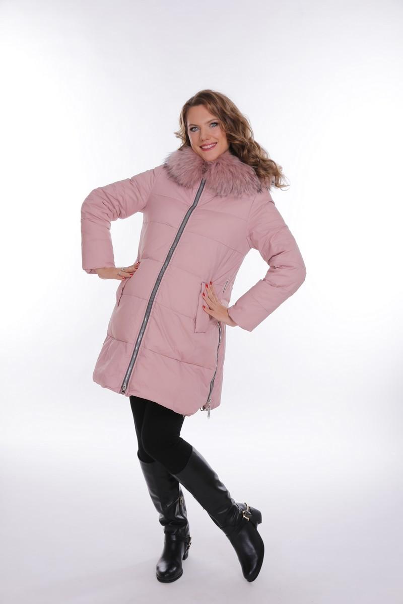 Куртка 09094 розовый