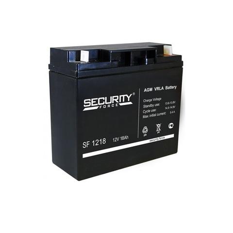 Аккумулятор для эхолота Security Force SF-1218
