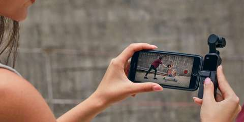 Стабилизатор c камерой DJI Osmo Pocket lifestyle