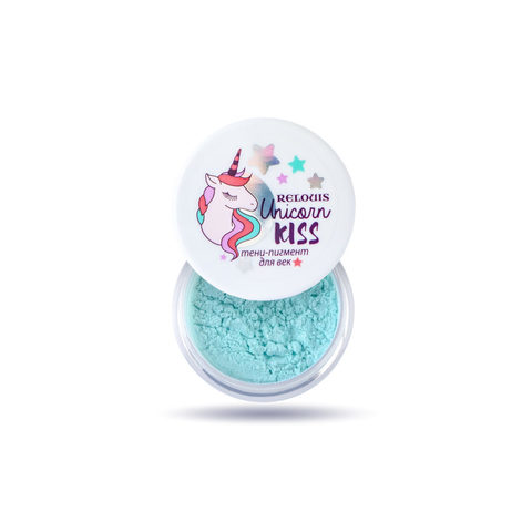 Relouis Unicorn Kiss Тени-пигмент для век тон 03 Mint Unicorn