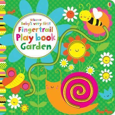 Kitab Baby's Very First Fingertrail Play book Garden | Fiona Watt