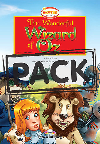 The Wonderful Wizard of Oz. Волшебник страны Оз. Франк Баум. Уровень А2 (6-7 класс) Книга для чтения с Audio CD.