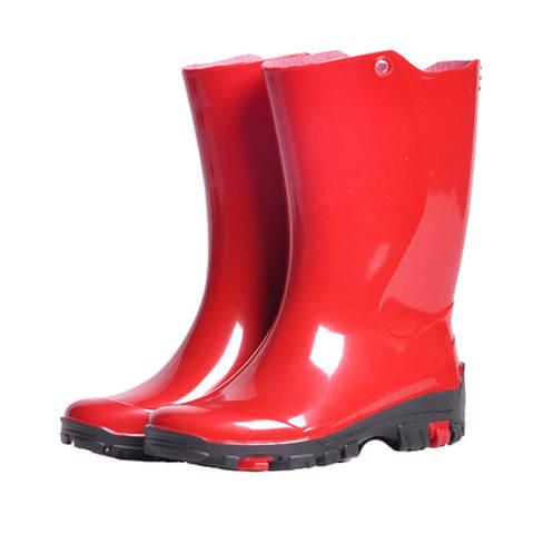 Детские резиновые сапоги Nordman Rain красные