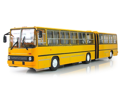 Ikarus-280.64 planetary doors yellow Soviet Bus 1:43