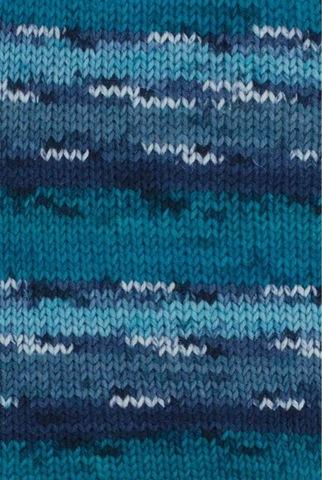Носочная пряжа Gruendl Hot Socks Stripes 615