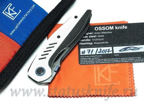 Нож CKF Ossom (Малышев, Ti, G10)